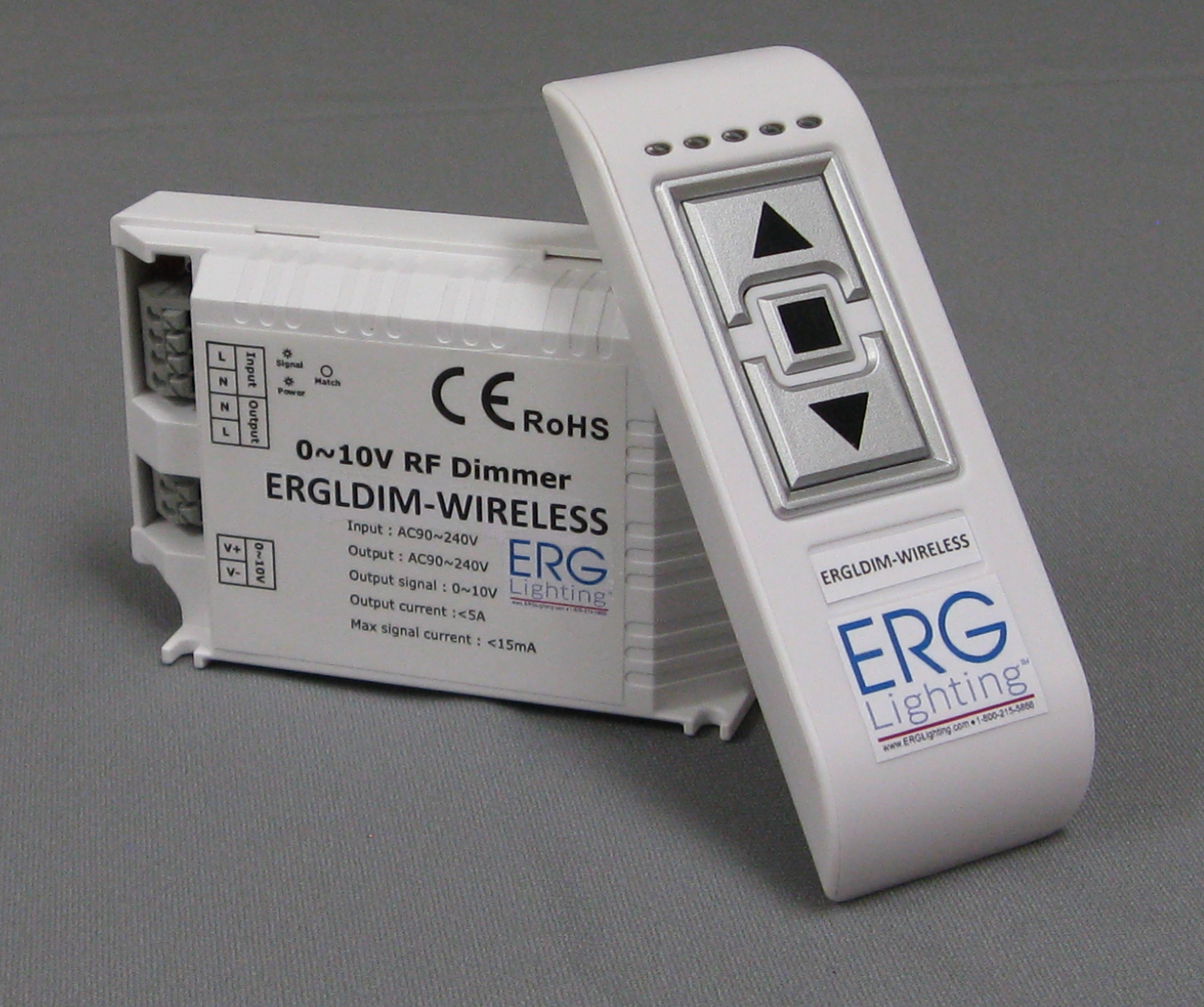 Wireless Dimmer (ERGLDIM-WIRELESS) | ERG Lighting | LED Drivers for Solid State Lighting & Wireless Dimmer (ERGLDIM-WIRELESS) | ERG Lighting | LED Drivers for ...