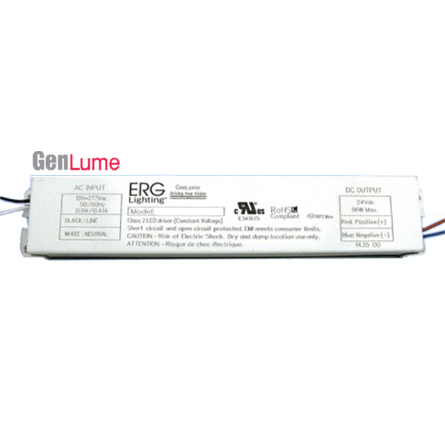 GEN ... & GEN 100 Watt CV 24V (GEN100WUV24V) | ERG Lighting | LED Drivers ... azcodes.com