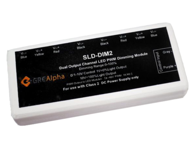 Smart-Dim Dual Channel LED Dimming Module 240W 8 u2013 48V (SLD-DIM2)  sc 1 st  ERG Lighting & New Products - LED Drivers - LED Modules | ERG Lighting | LED ... azcodes.com